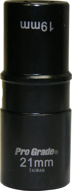 Pro-Grade 14660 1/2-Inch Drive with 19mm x 21mm Impact Flip Socket