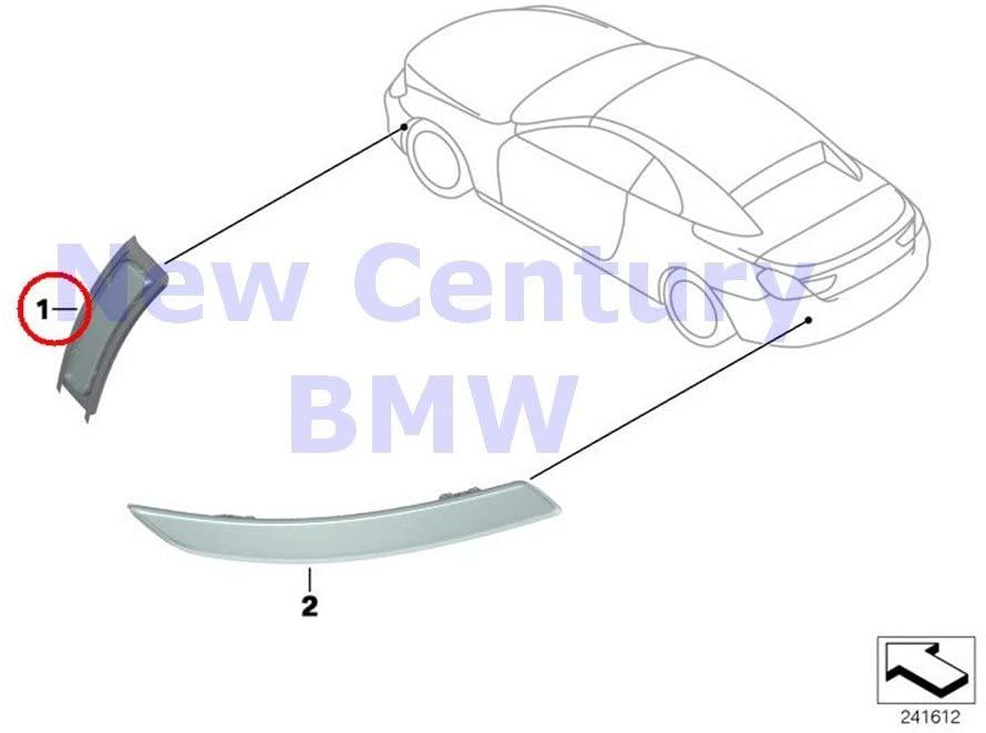 BMW Genuine M Trim Front Reflector Right Side Marker Reflector 640i 640iX 650i 650iX ALPINA B6 M6 640i 640iX 650i 650iX M6 640i 640iX 650i 650iX M6 640i 640iX 650i 650iX M6 640i 640iX 650i 650iX M6 64
