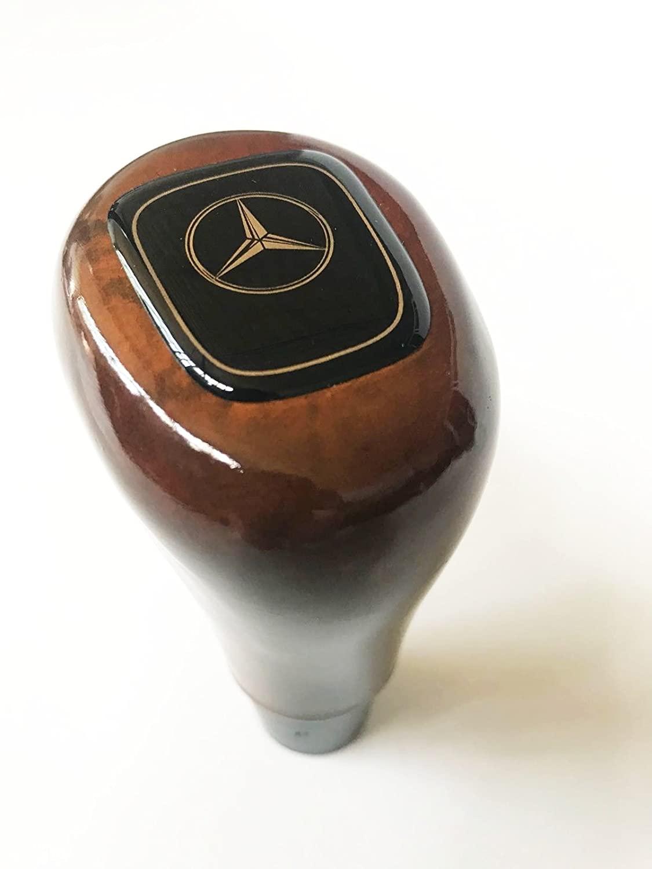 Ladika Wooden Walnut Wood Gear Shift Knob for Mercedes S Class W220 1998-2005 / SL Class R230 2002-2005