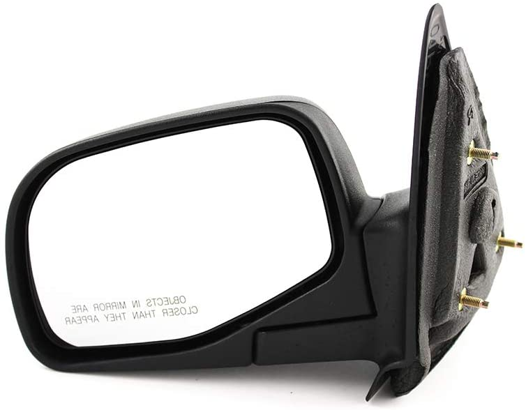 Gold Shrine for Ford Ranger|Mazda B-Series Pick Up Manual Operated Non-Heated Folding Textured Side Door View Mirror 1998 1999 2000 2001 2002 2003 2004 2005 Driver Left Side Replacement
