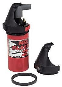 MSD 8217 Black Plastic Coil Wire Retainer