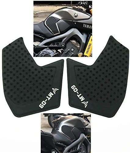 JIANXING Durable Motorcycle Accessories for Yamaha MT-09 MT09 MT 09 2014-2016 Year Motorcycle Tank Pad Protector Sticker Decal Gas Knee Grip Tank Traction Pad Side Easy to Install