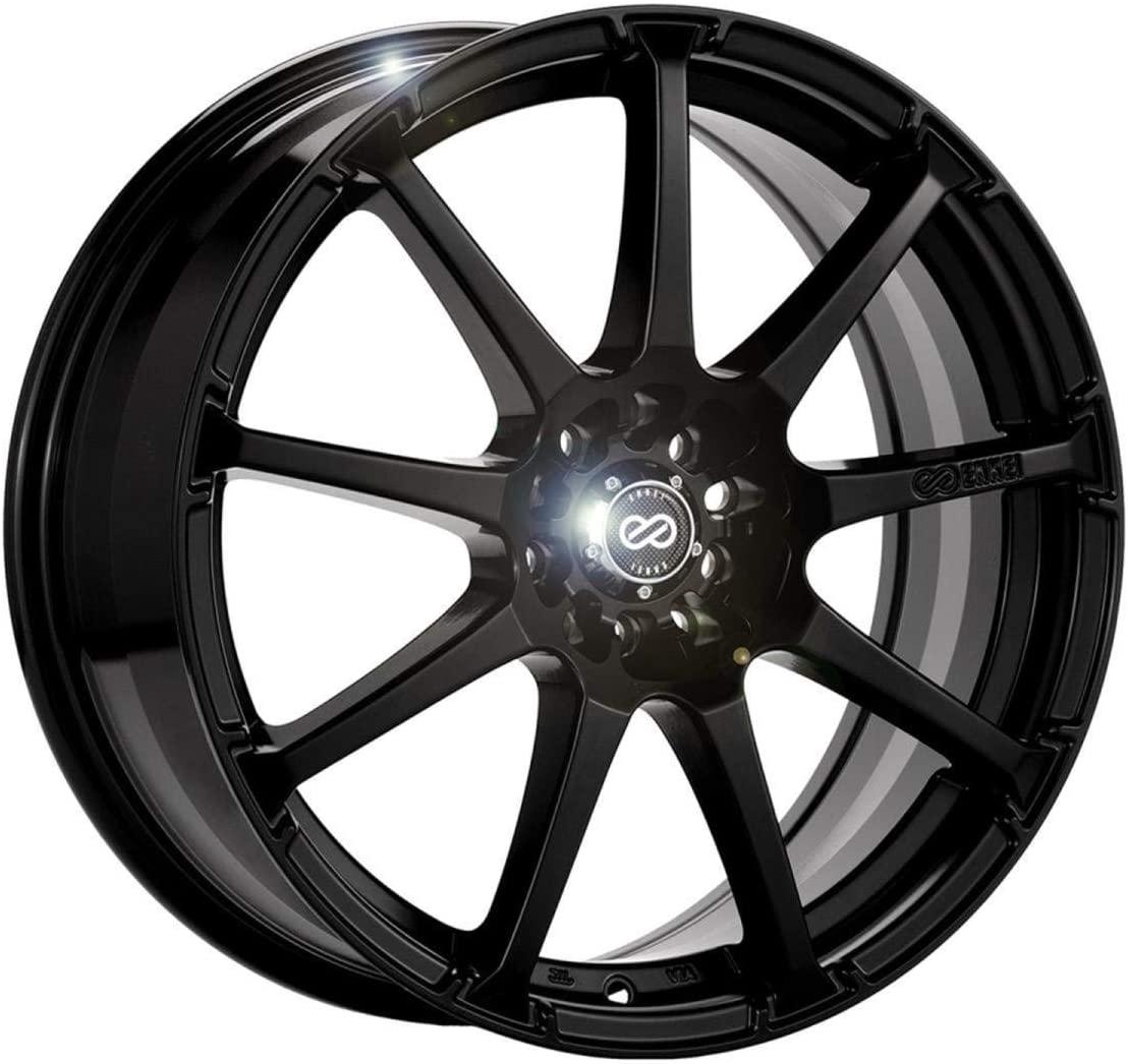 15x6.5 Enkei EDR9 (Matte Black) Wheels/Rims 5x100/114.3 (441-565-0238BK)