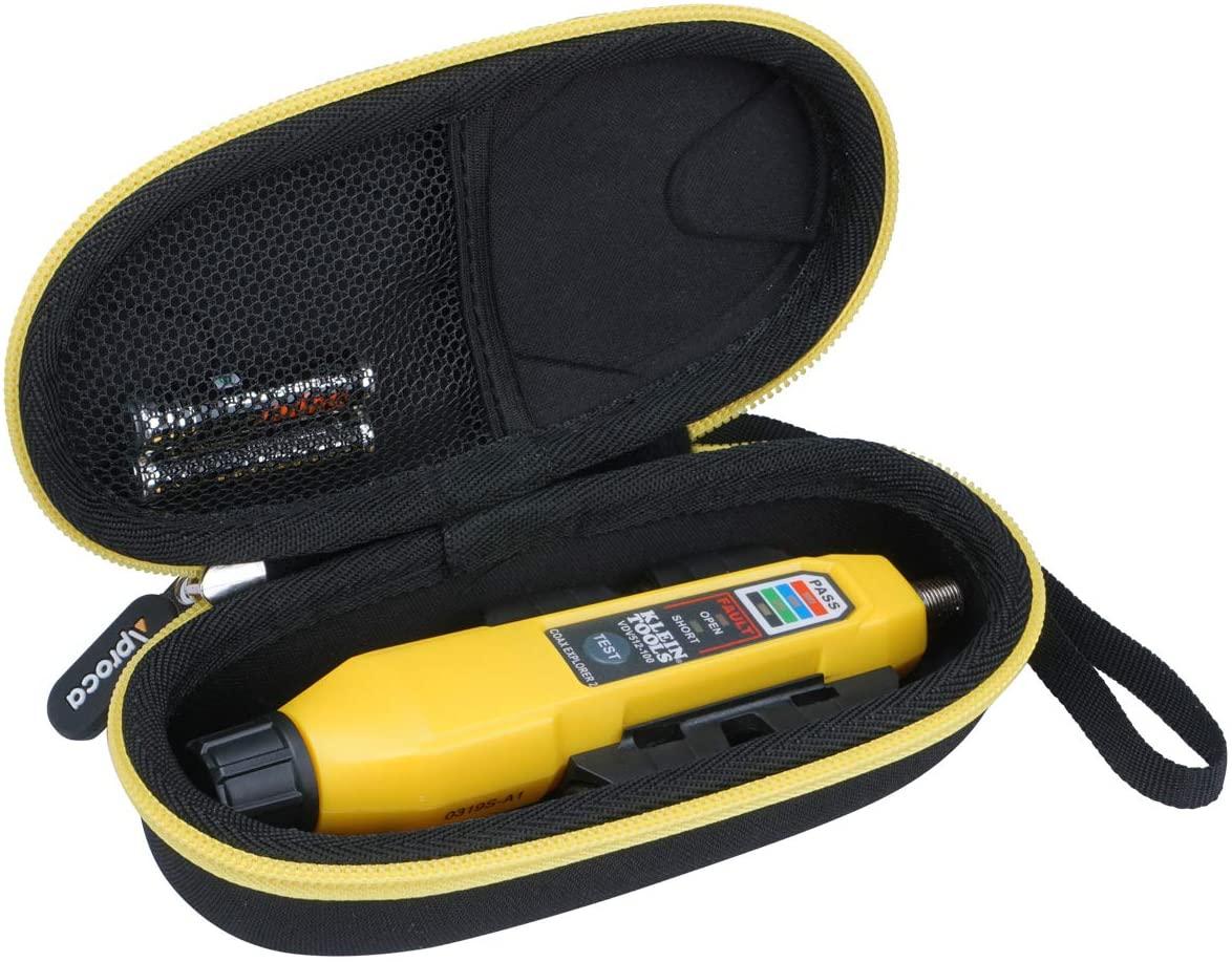 Aproca Hard Travel Storage Carrying Case for Klein Tools VDV512-101 Explorer 2 Coax Tester Kit
