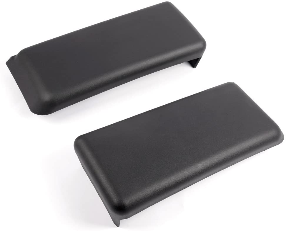 New One Pair For Ford F150 2009-2014 10 11 12 13 14 Front Bumper Guards Inserts Caps Pads LH + RH Auto Black