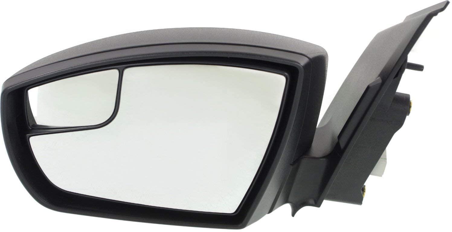 Kool Vue FD240EL Mirror for FORD ESCAPE 13-16 LH Power Manual Folding Textured Black