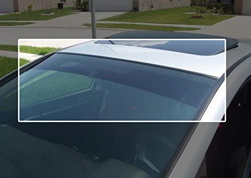 TRUE LINE Automotive Precut Windshield Sun Visor Window Tint Strip for Ford Escape 2008-2012