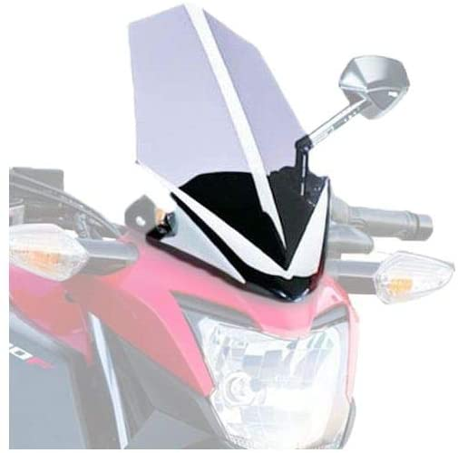 Puig Naked Generation Sport Windscreen (Clear) for 15-19 Honda CB300F