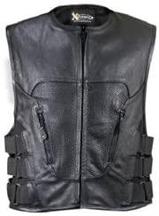 SWATT Team Style Men's Motorcycle Vest