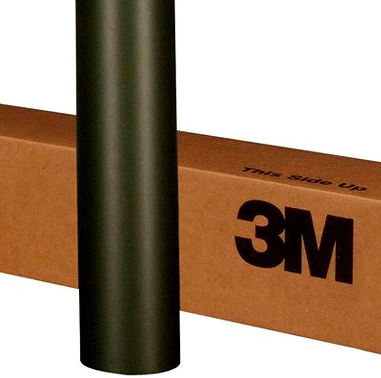 3M 1080 M22 Matte DEEP Black 60in x 240in (100 Sq/ft) Car Wrap Vinyl Film