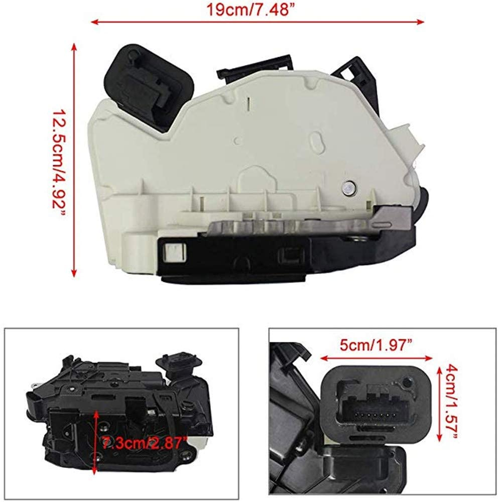 Rear Right Driver Side Door Lock Latch Actuator 6RD839016A 5K4839016F For VW Beetle Golf Jetta