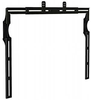 Universal Adjustable Sound Bar Bracket - Black