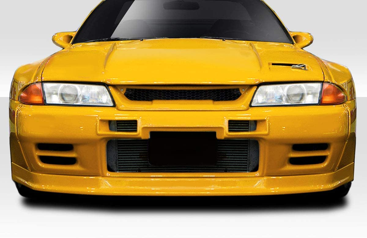 Compatible With/Replacement For Duraflex ED-EJE-688 TKO RBS Front Lip/Add On - 1 Piece - Compatible With/Replacement For Skyline 1989-1994