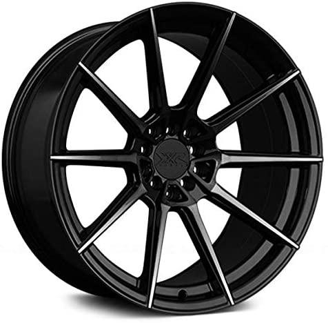 XXR 567 Phantom Black Wheel with Painted (18 x 9.5 inches /5 x 100 mm, 38 mm Offset)