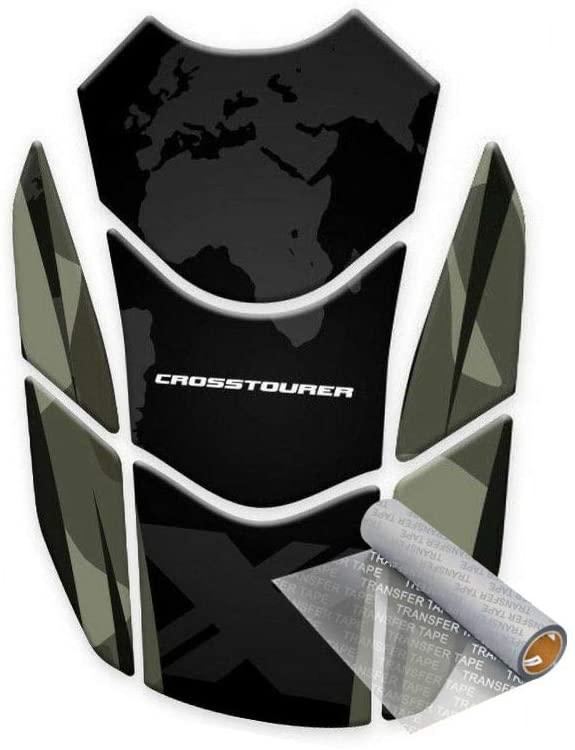 Tankpad for HONDA CROSSTOURER VFR 1200 X 2012 (camouflage paint)