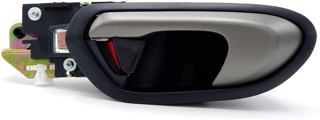 Nonstops Rear Lh Interior Inner Handle Hand Door Black for Honda Civic FD Sedan 2006 11 6x5x24 cm Black
