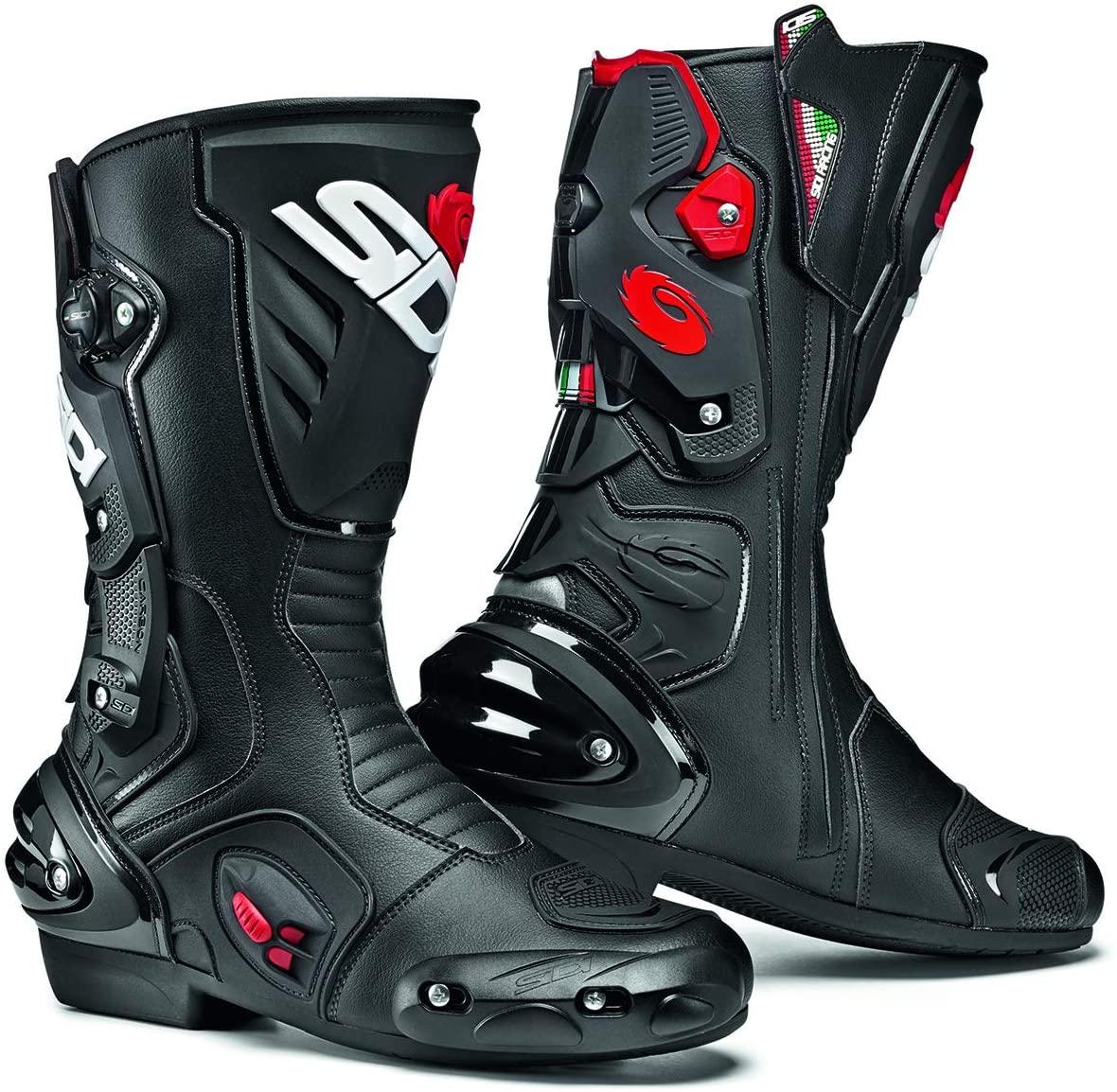 Sidi Vertigo 2 Motorcycle Boots (10/44, Black)