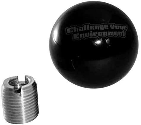 Steinjager - Manual Challenge Your Environment Black Shift Knob
