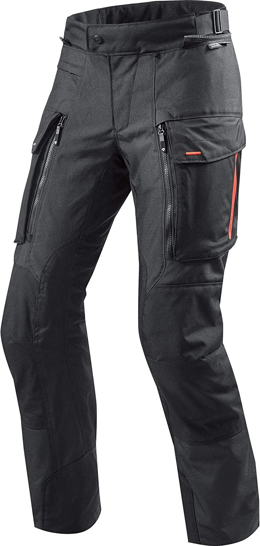 Revit Sand 3 Motorcycle Pants Black Standard, M