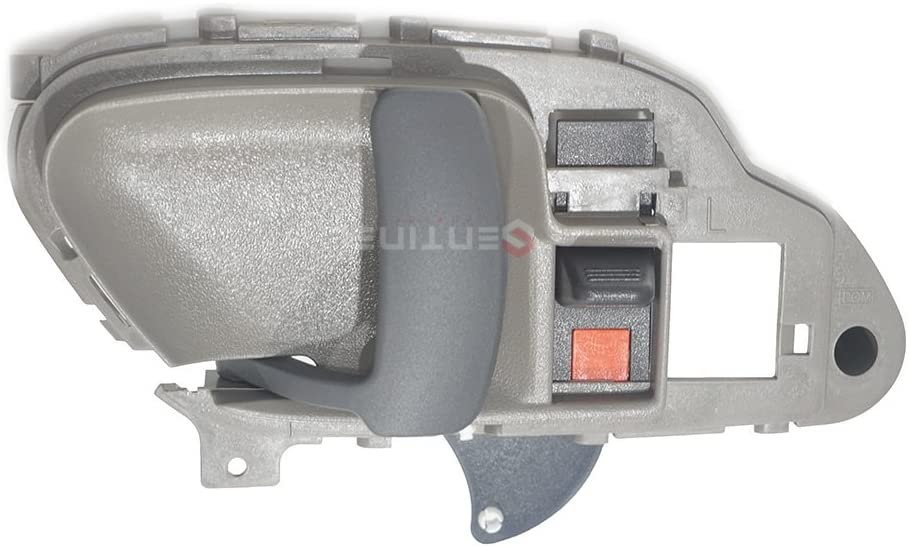 Sentinel Parts Gray Left Driver Front & Rear Inside Inner Door Handle for Chevrolet Tahoe GMC Yukon 15708043