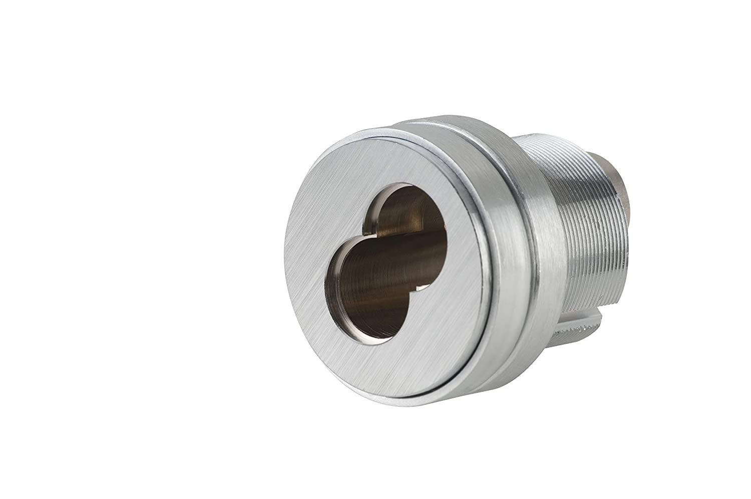 Schlage Commercial 80102626 Small Format Interchangeable Core Mortise Cylinder with Standard Cam; Compression Ring; and 1/4