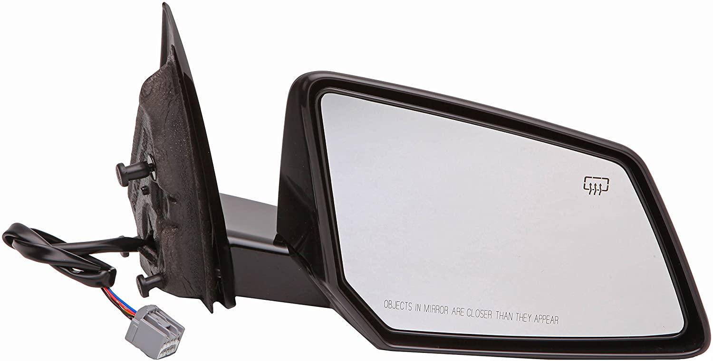 Dorman 955-1876 Passenger Side Power Door Mirror - Heated/Folding for Select Saturn Models, Black