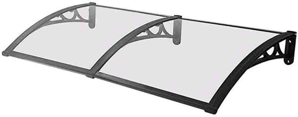 SDSL Front Door Awning Door Canopy Awning,Transparent Door Canopy Entry Awning,Our Range of Door and Window Canopies is The Perfect Solution Outdoor Awning