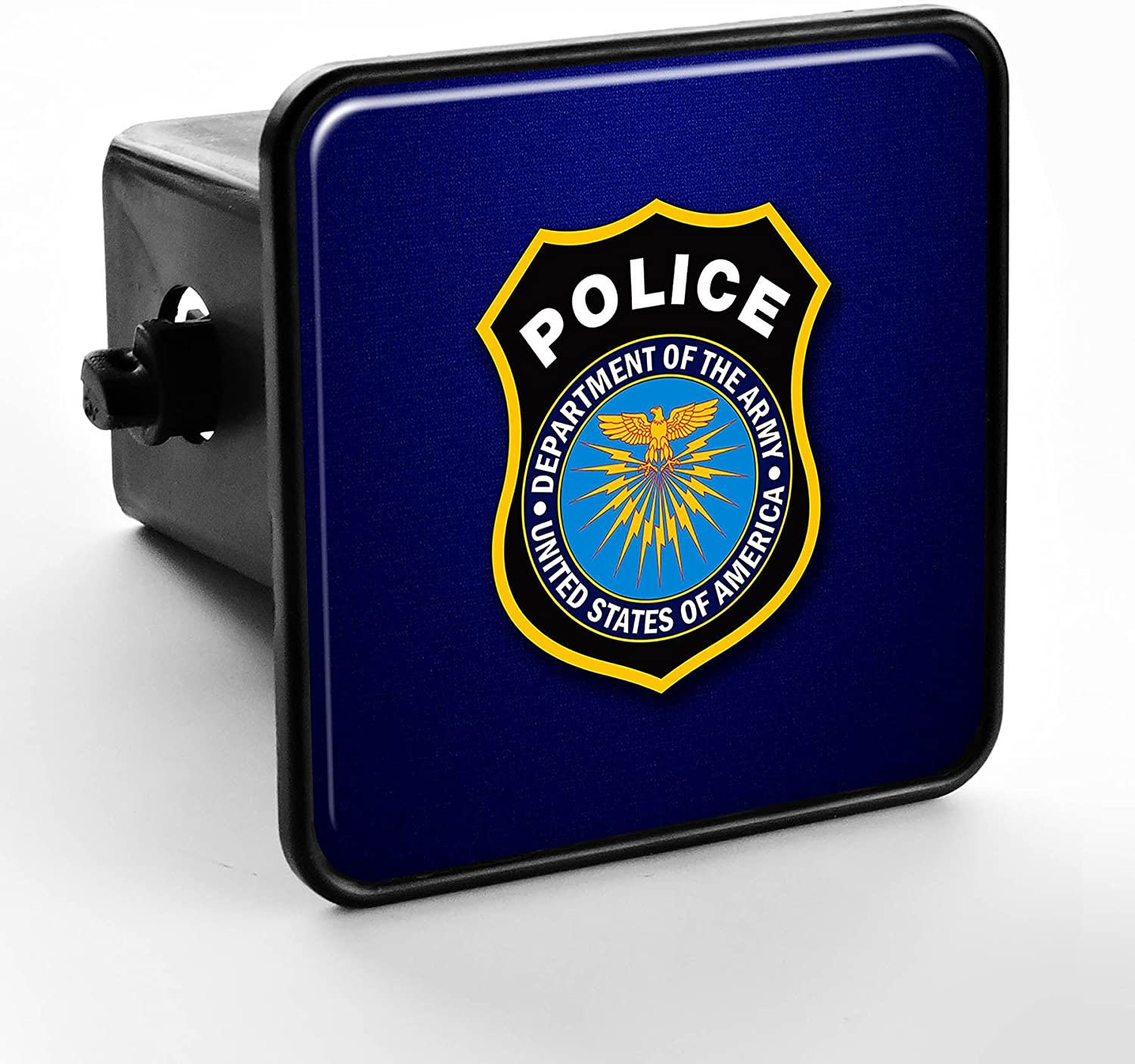 ExpressItBest Trailer Hitch Cover - US Department of The Army Police (Badge)