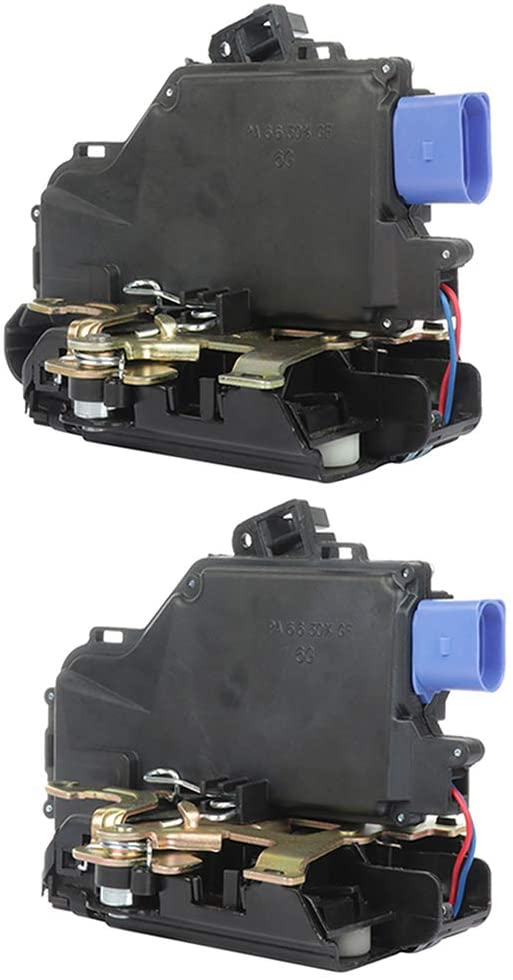Power Door Lock Actuators Front Right+Rear Right Door Latch Replacement Fits For 2004-2010 FOR Volkswagen