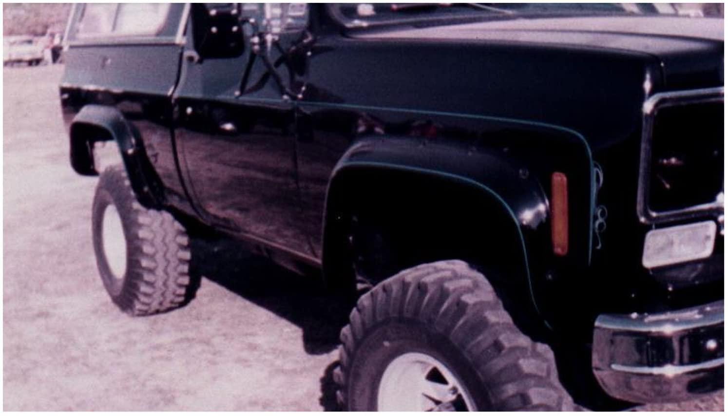 Bushwacker 40003-11 Chevrolet/GMC Cut-Out Fender Flare - Front Pair