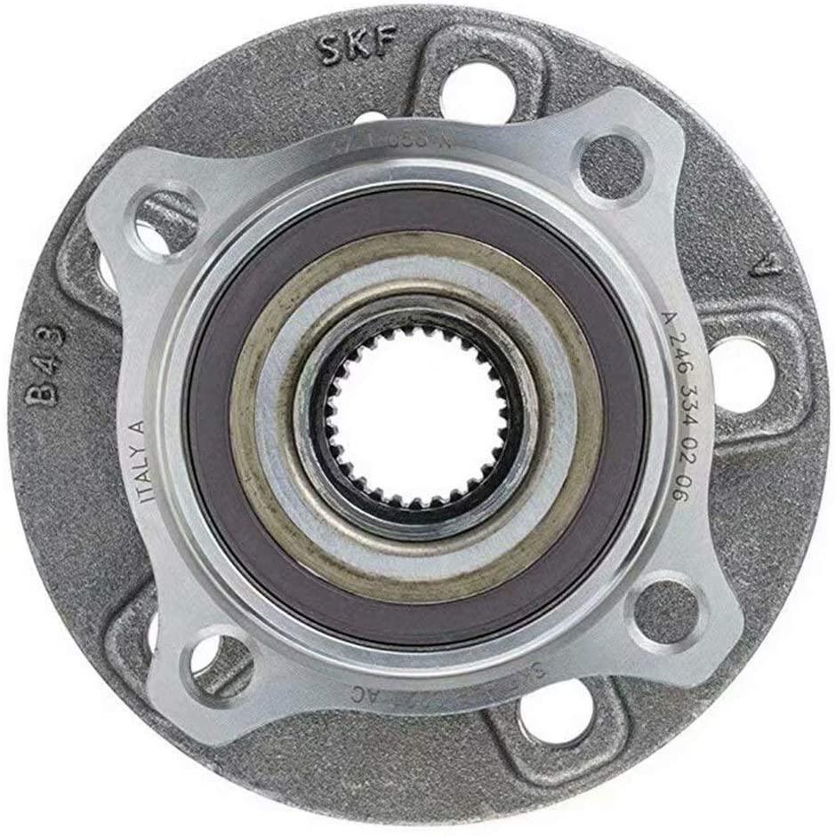 NaNa-AUTO Wheel Bearing and Hub Assembly 2463340206 for MB:W176,X156,C117,X117,W246 W242,CLA,A,GLA,B