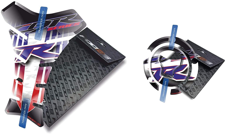 Fooqs Tankpad and Cappad for Honda CBR 1000rr Cbr1000rr 1000 Cbr600rr New Model (HRC)