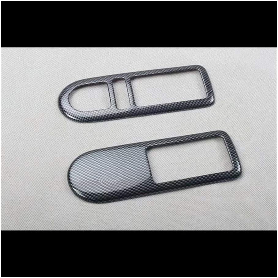 SHOUNAO Fit for Volkswagen Beetle 2008 2PCS ABS Car Door Interior Handle Bowl Protector Cover Trim Moldings Car Styling (Color Name : Style 2)