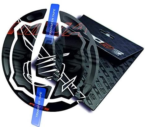 Cappad for KAWASAKI NINJA 650 New Model (Black/Orange)