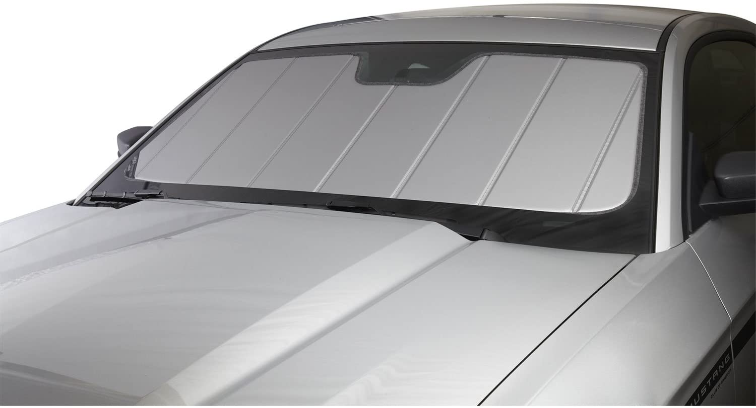 Covercraft UV11466SV Silver UVS 100 Custom Fit Sunscreen for Select Cadillac XT5 Models - Laminate Material, 1 Pack
