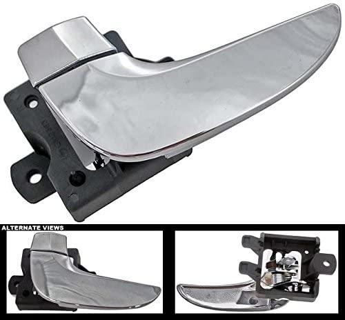 APDTY 93652 Interior Door Handle Front/Rear Left Chrome