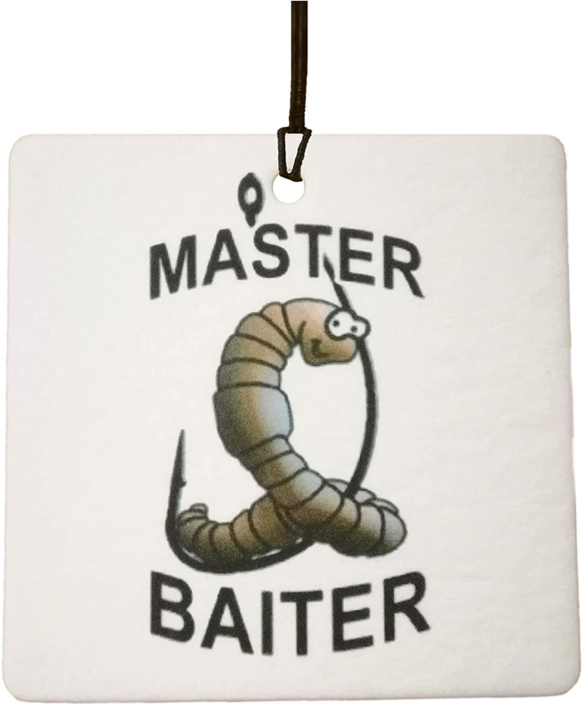 Master Baiter Car Air Freshener