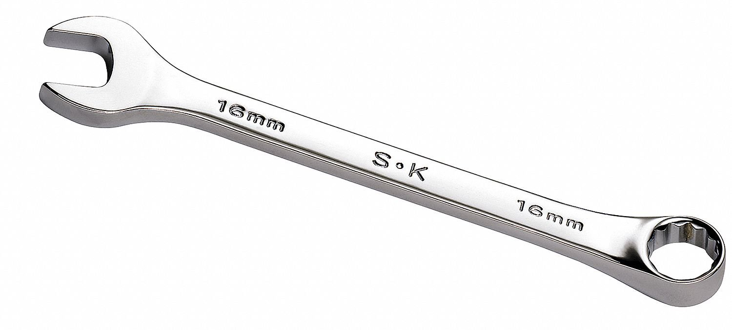 Combination Wrench, SAE, 1/2in Size