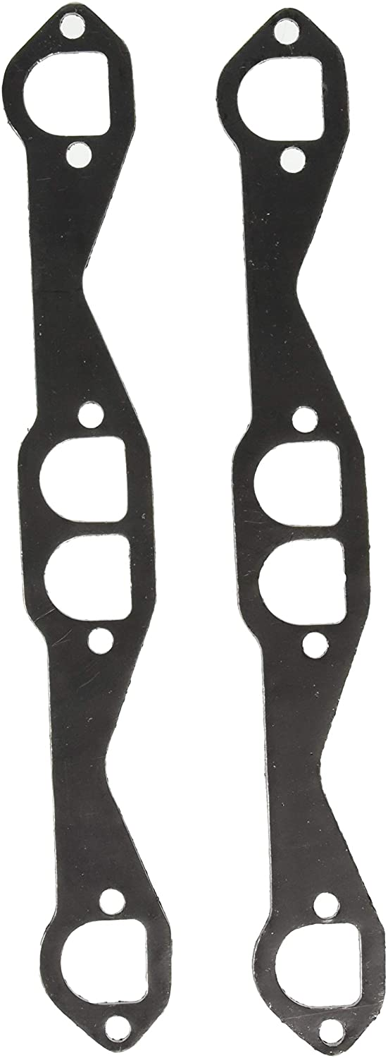 Remflex 2042 Exhaust Gasket for Chevy V8 Engine, (Set of 2)