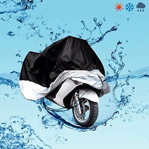 HTTMT CHEZHAO- XXXL Protective Dust Waterproof Cover Compatible with Motorcycle Street Bikes Outdoor Indoor