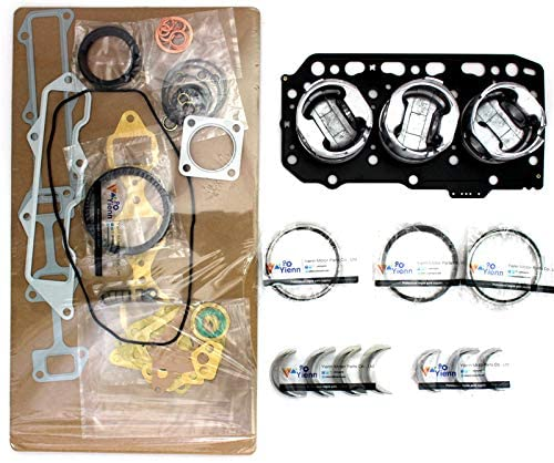 3LD2 overhaul rebuild kit for Isuzu excavator tractor forklift diesel engine parts rebuild kit
