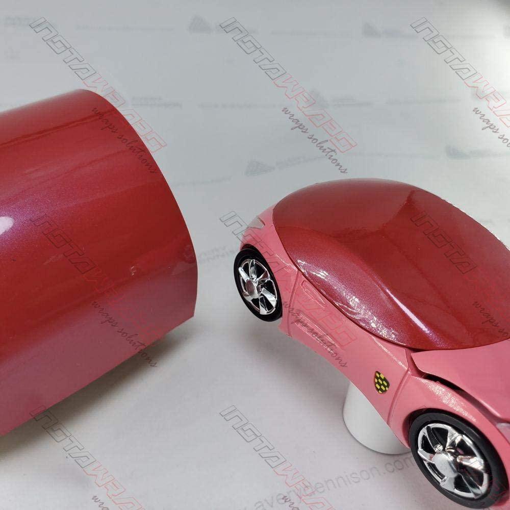Avery SW900 Gloss Red Pearl | 437-S | Vinyl CAR WRAP Film (Sample 2.5in x 4in)
