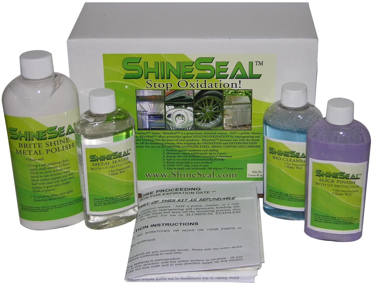 ShineSeal Master Kit (Covers 80 sq ft)