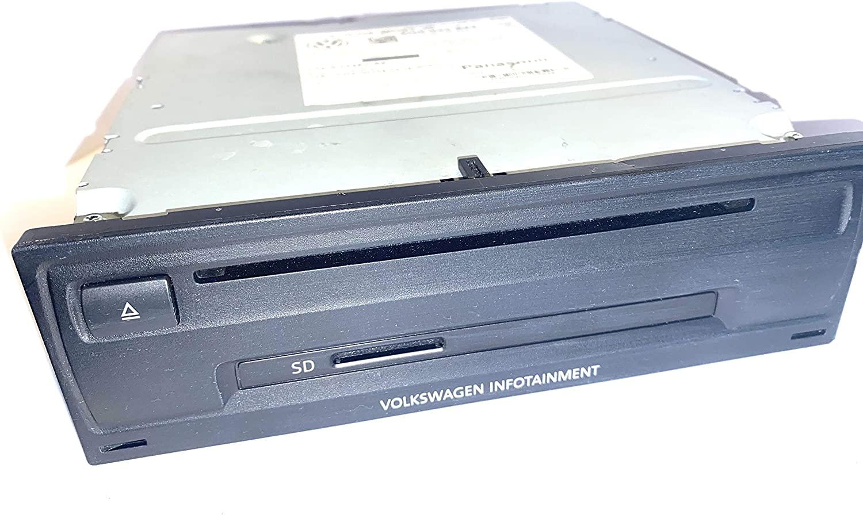Abssrsautomotive Infotainment SD Card Radio CD Player For Volkswagen Golf 2015-2016 5G0035844