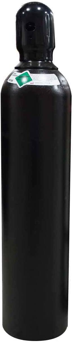 80 cu/ft 100% Argon Cylinder Tank Welding Gas CGA 580 - FULL