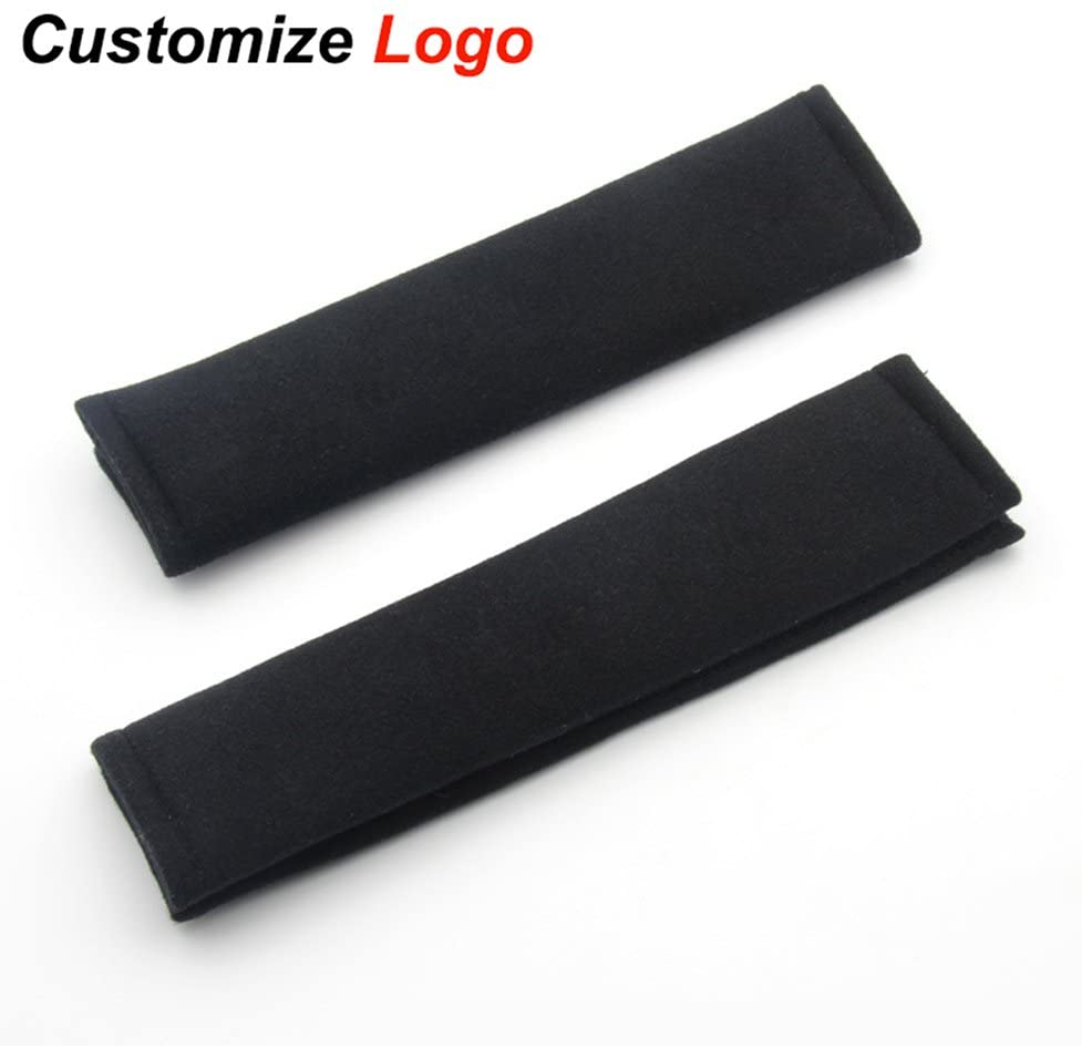SZSS-CAR 2X Car Styling Accessories Seat Belt Shoulder Pad Truck Cushion Cover- A Must Have for All Car Owners for a More Comfortable Driving-for Honda Toyota VW Mini Audi Kia BMW Mazada with Logo