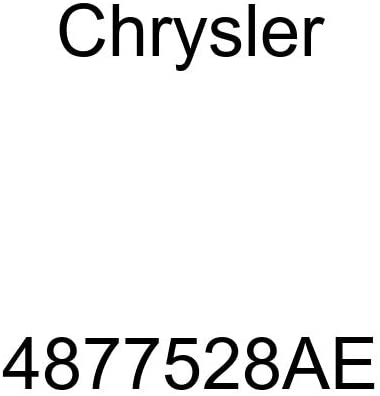 Genuine Chrysler 4877528AE Exhaust Muffler