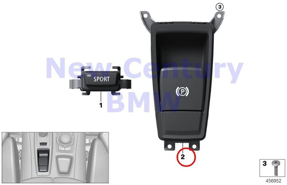 BMW Genuine Gear Selector Switch Parking Brake Switch Switch Emf X5 3.0si X5 3.5d X5 4.8i X5 M X5 35dX X5 35iX X5 50iX X6 35iX X6 50iX X6 M Hybrid X6