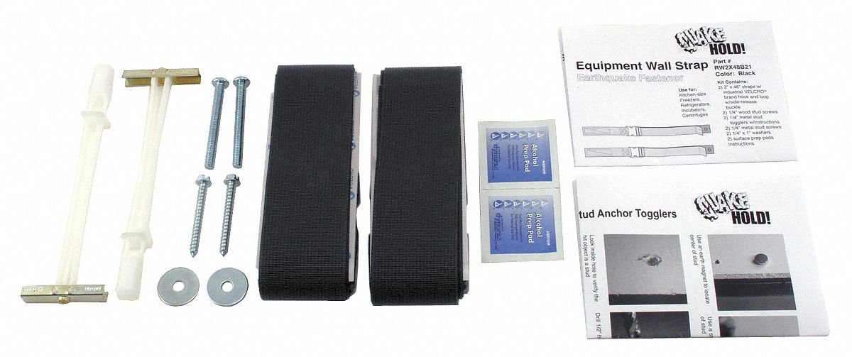 Equipment Wall Strap Black