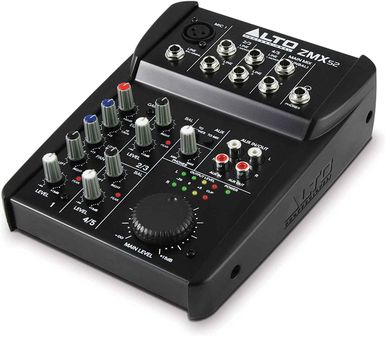 Alto Professional, 5, 5-Channel / 2-Bus (ZMX52)